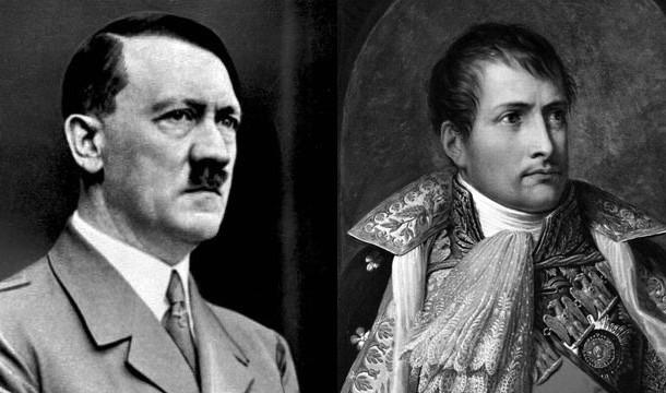 ناپلئون و هیتلر
