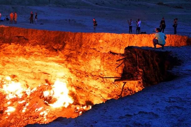 بیابان قره قوم در ترکمنستان