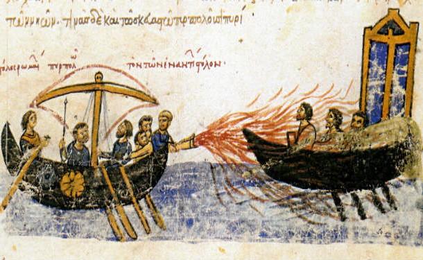 شعله افکن باستانی