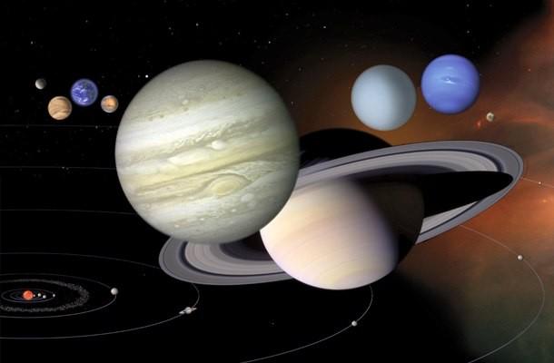 نام سیاره های منظومه شمسی
