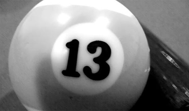 ترس از عدد 13