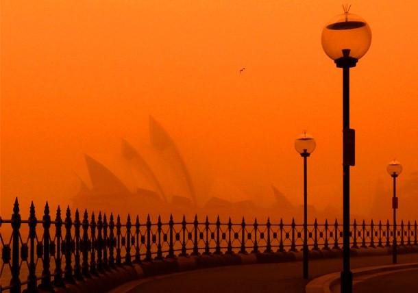 طوفان شن سیدنی