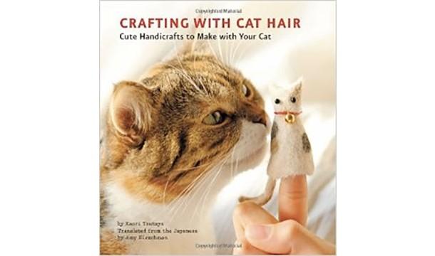 ساخت کاردستی با موی گربه !