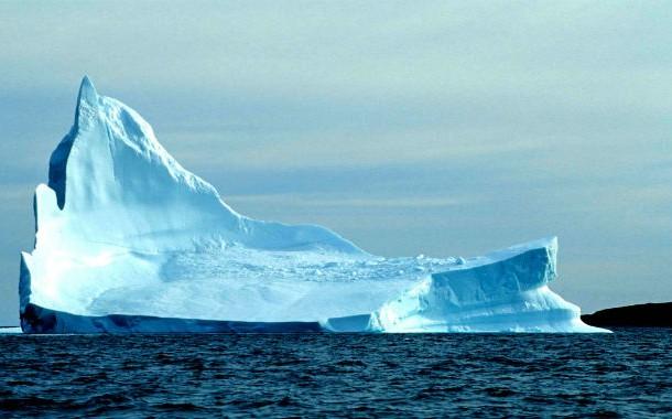 صدای کوه های یخی