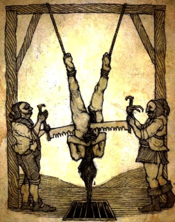 شکنجه با ارّه