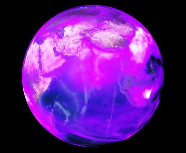 کره زمین بنفش