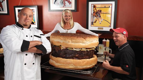 بزرگ ترین همبرگر قابل خرید جهان - رکورد گینس