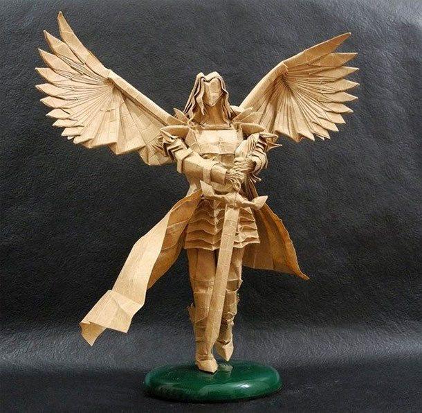 اوریگامی فرشته