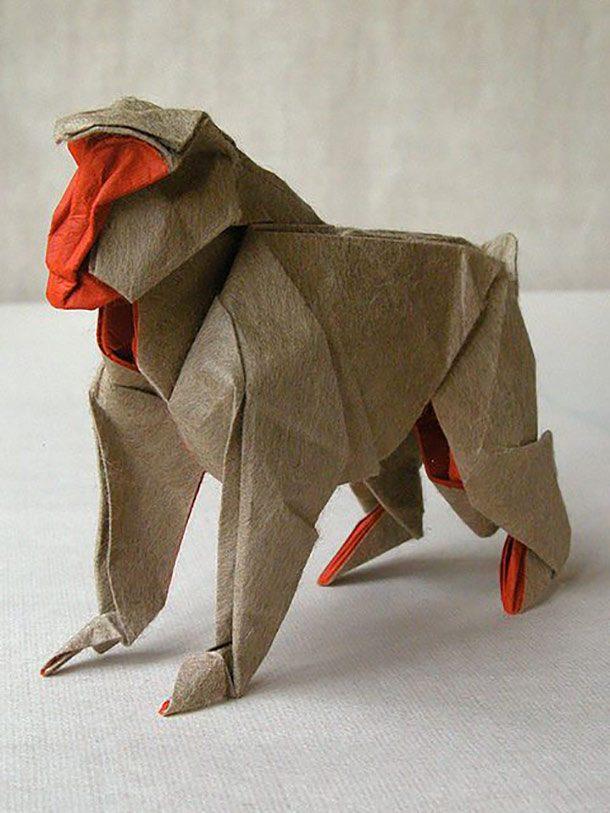 اوریگامی میمون
