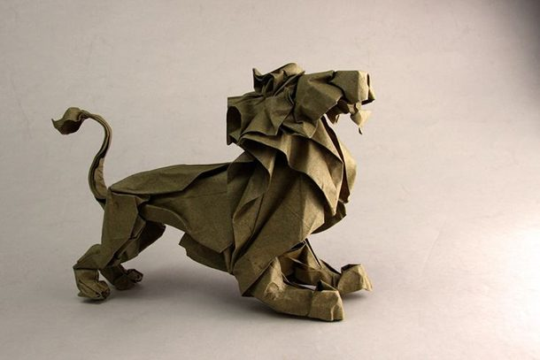 اوریگامی شیر