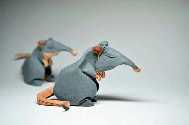 اوریگامی موش