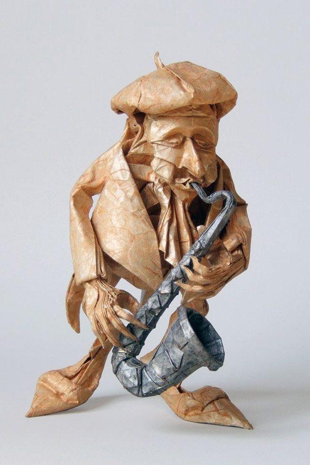 اوریگامی مرد