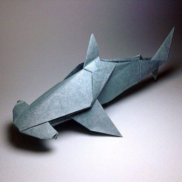 اوریگامی کوسه