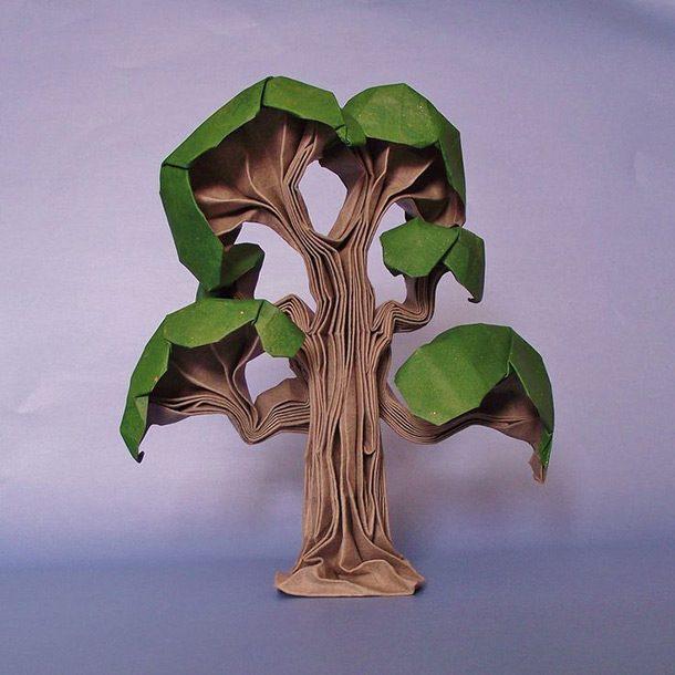 اوریگامی درخت
