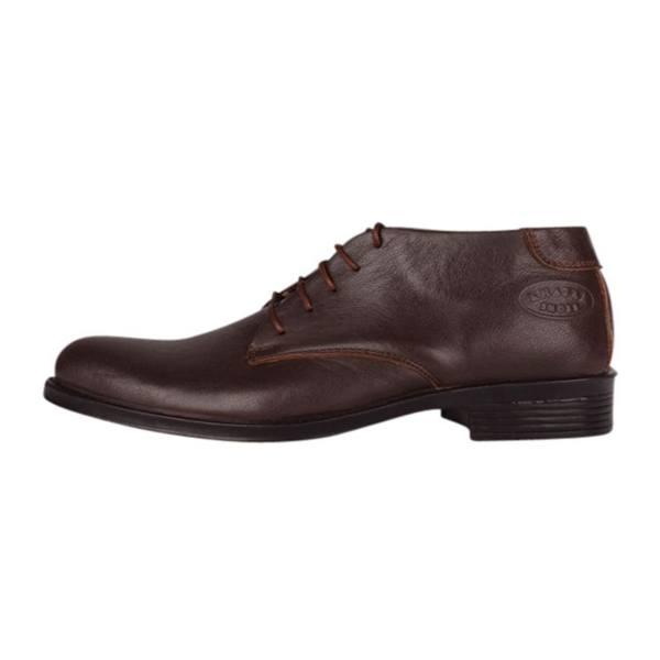 کفش چرم مردانه مهاجر مدل M24gh کد 01