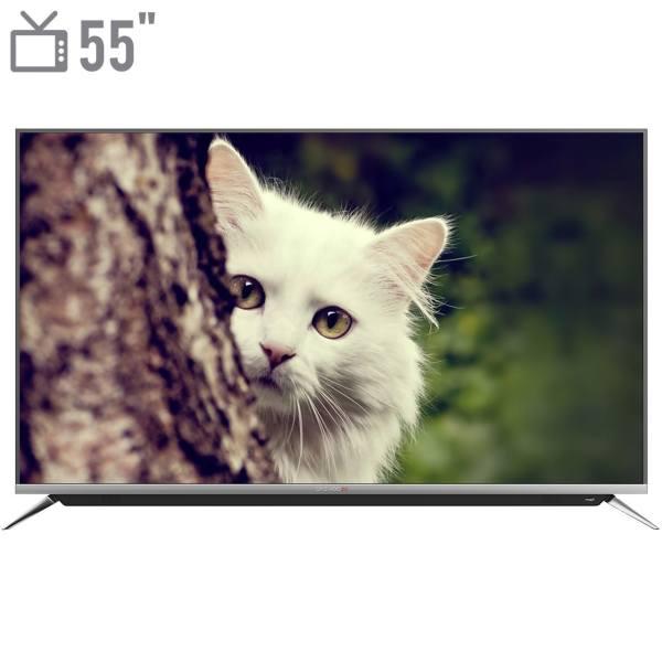تلویزیون ال ای دی هوشمند دوو مدل DUHD-55H7000-DPB سایز 55 اینچ