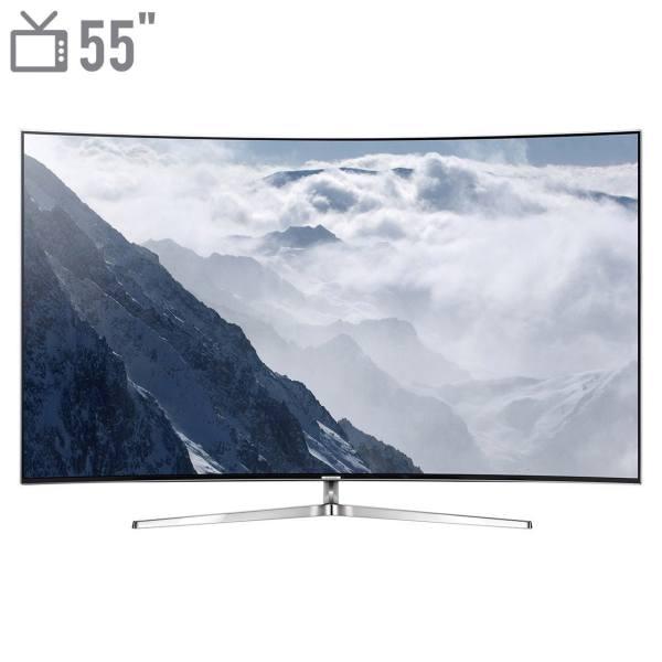 تلویزیون ال ای دی هوشمند خمیده سامسونگ مدل 55MS9995 سایز 55 اینچ