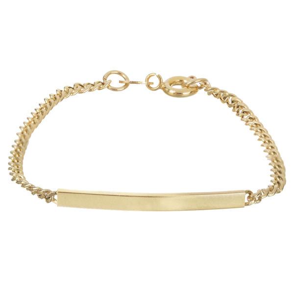 دستبند طلا 18 عیار درنیکا مدل Db3022