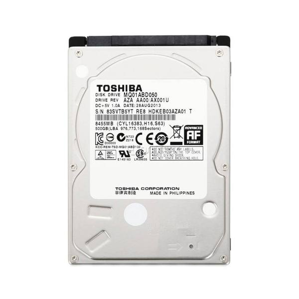 هارد دیسک اینترنال 2.5 اینچی توشیبا مدل MQ01ABD050V ظرفیت 500 گیگابایت