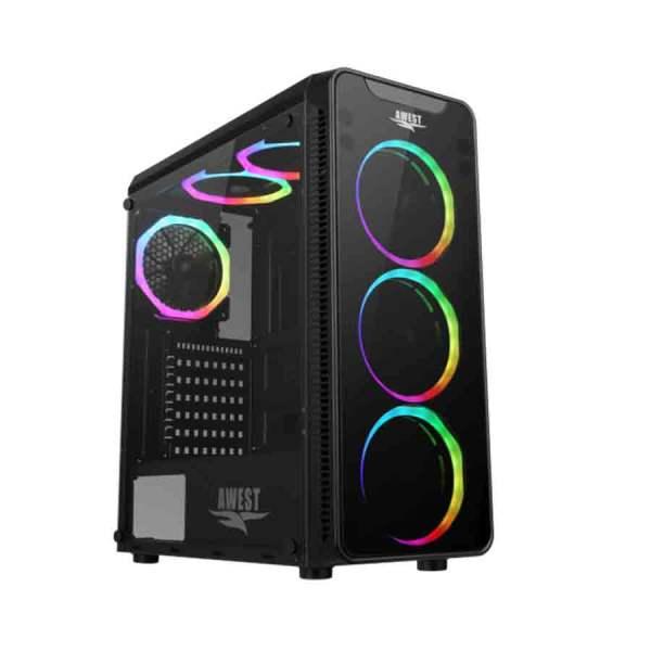 کیس کامپیوتر اوست مدل GT-AV05-BG ARGB
