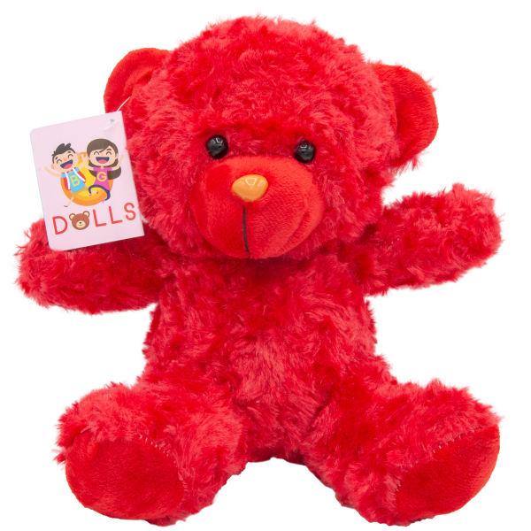 عروسک راس مدل خرس مهربان کد S1 ارتفاع 20 سانتی متر