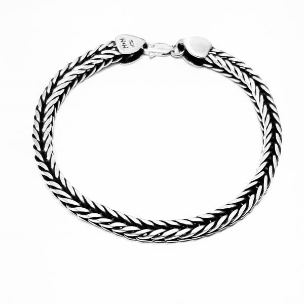 دستبند نقره کد HMH20
