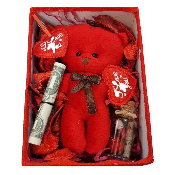 ست هدیه عروسک طرح خرس