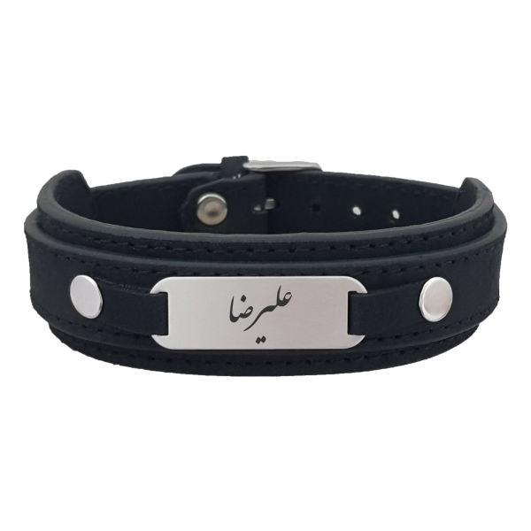 دستبند نقره مردانه ترمه ۱ مدل علیرضا کد Dcsf0005