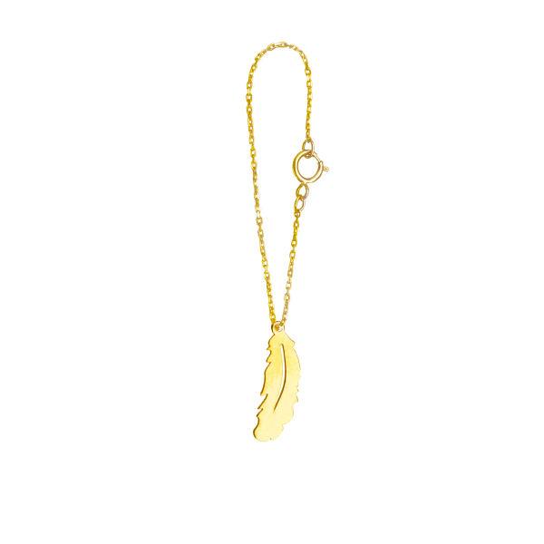 آویز ساعت طلا 18 عیار فرنود مدل WP41