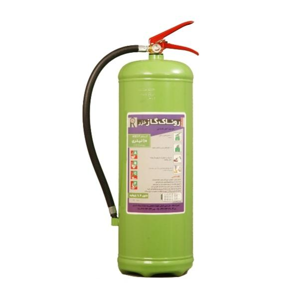 کپسول آتش نشانی روناک گاز خزر مدل 10 حجم 10 لیتر