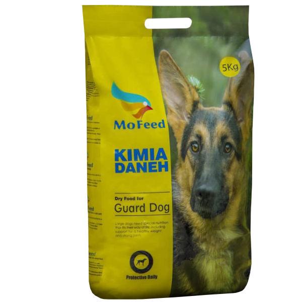 غذای خشک سگ مفید مدل GAURD DOG FOOD ADULT وزن 5 کیلوگرم