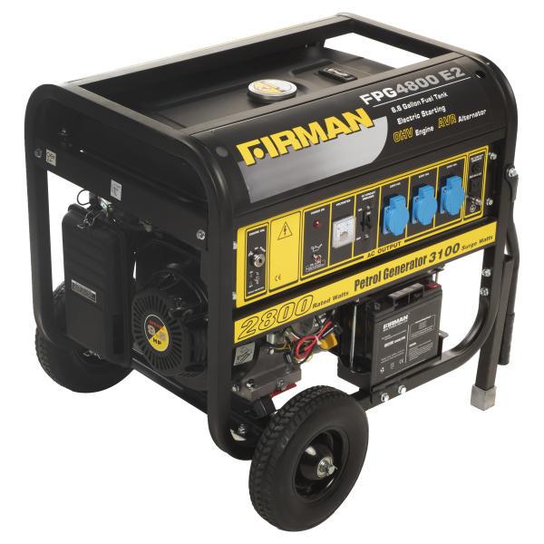 موتور برق فیرمن مدل FPG4800E2