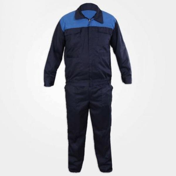 لباس کار مهندسی سبلان کد 12 مدل سرمه ای آبی