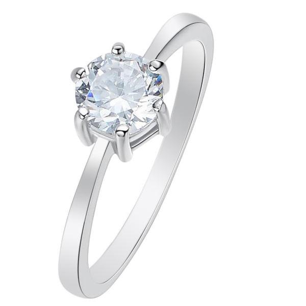 انگشتر نقره زنانه کد GR0626