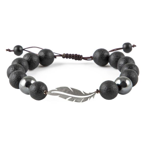 دستبند نقره مردانه ریسه گالری مدل Ri3-A1146-Silver