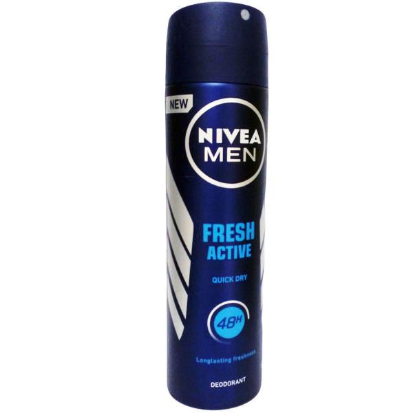 اسپری مردانه نیوآ مدل Fresh Active حجم 150 میلی لیتر