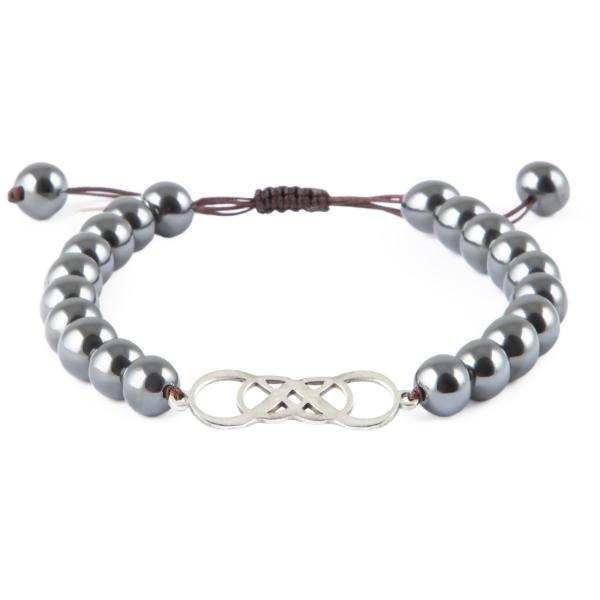 دستبند نقره مردانه ریسه گالری مدل Ri3-H1152-Silver