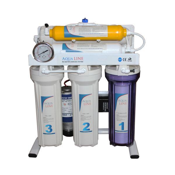 دستگاه تصفیه کننده آب آکوا لاین مدل RO-LINE100
