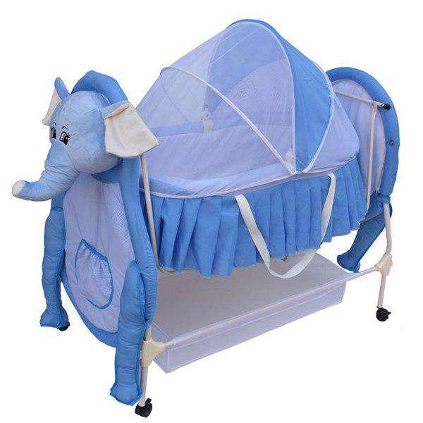 تخت نوزاد کوشا طرح فیل مدل SANIKO11