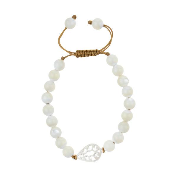 دستبند نقره زنانه هونام کد H-18