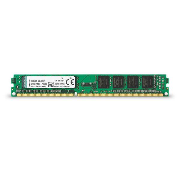 رم دسکتاپ کینگستون DDR3 تک کاناله 1600 مگاهرتز CL11 مدل KVR ظرفیت 4 گیگابایت