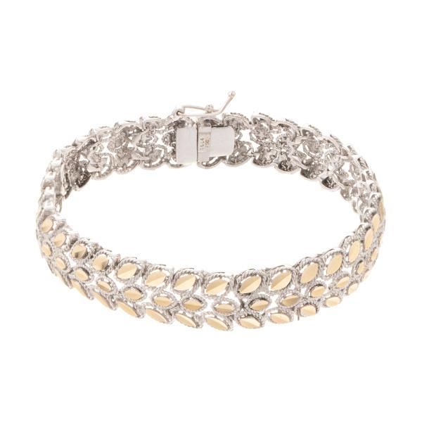 دستبند طلا 18 عیار زنانه کد 56542