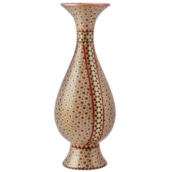 گلدان خاتم کاری خاتم کوروش - کروبی کد 141318
