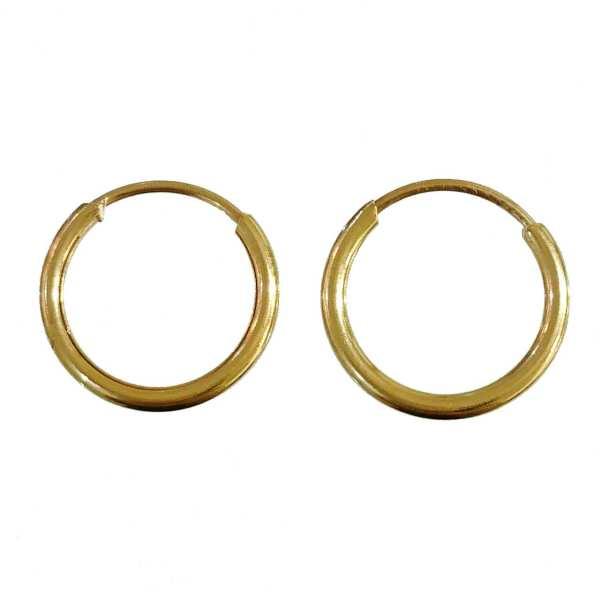 گوشواره طلا 18 عیار زنانه کانیار گالری کد 122