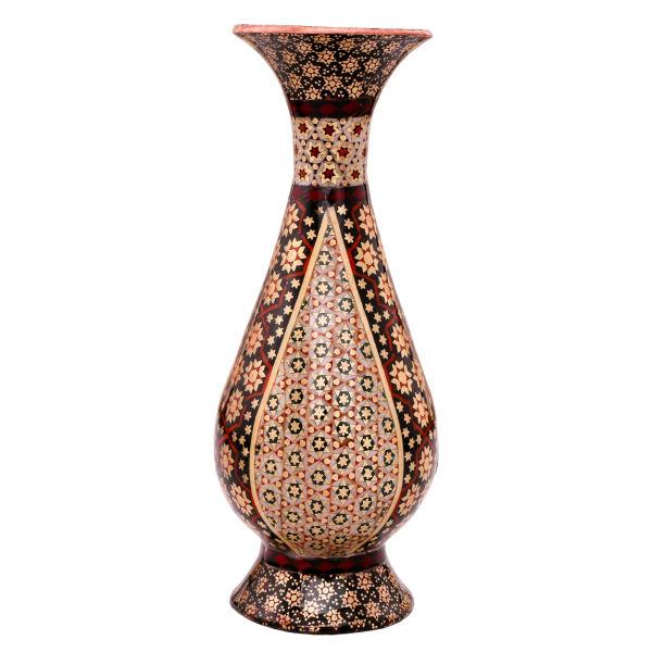 گلدان خاتم کاری کد 756
