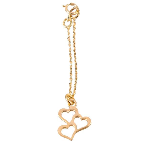 آویز ساعت طلا 18 عیار زنانه طرح قلب کد SG383