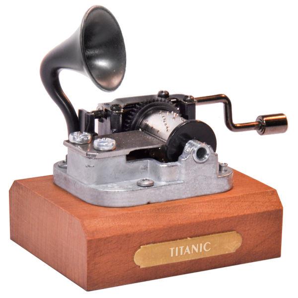 جعبه موزیکال ایل تمپو ولا مدل Titanic - New Classico