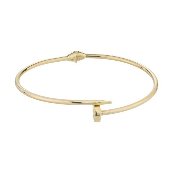 دستبند النگویی طلا 18 عیار زنانه کد CAR3