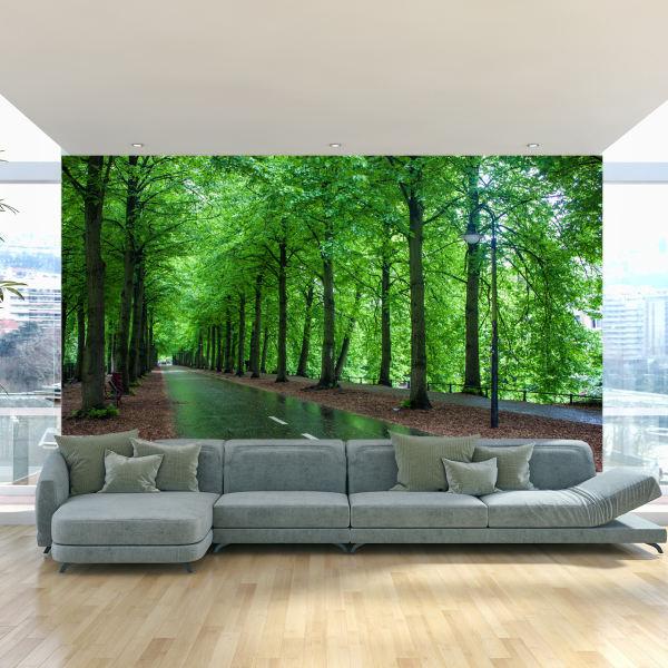 پوستر دیواری سه بعدی طرح جنگل کد ITT13