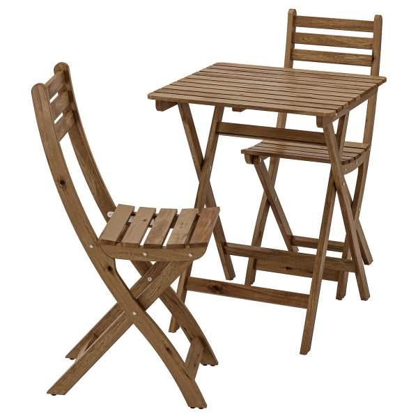 میز و صندلی ناهار خوری ایکیا مدل ASKHOLM کد 19053
